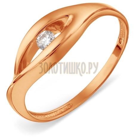 Кольцо с бриллиантом Т101018375