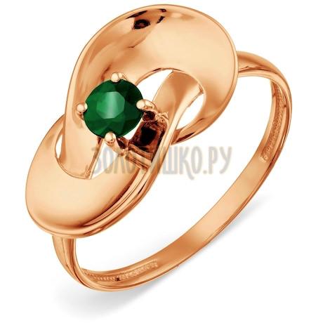 Кольцо с изумрудом Т101018722