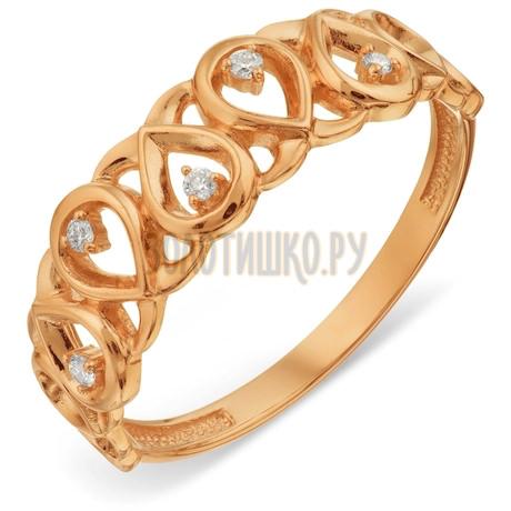 Кольцо с бриллиантами Т101018895