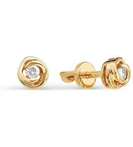 Серьги с бриллиантами Т101021706