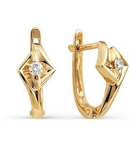 Серьги с бриллиантами Т101021717