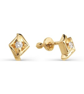 Серьги с бриллиантами Т101021718