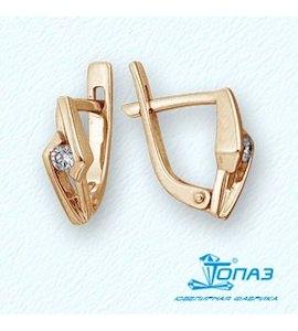 Серьги с бриллиантами Т101021722