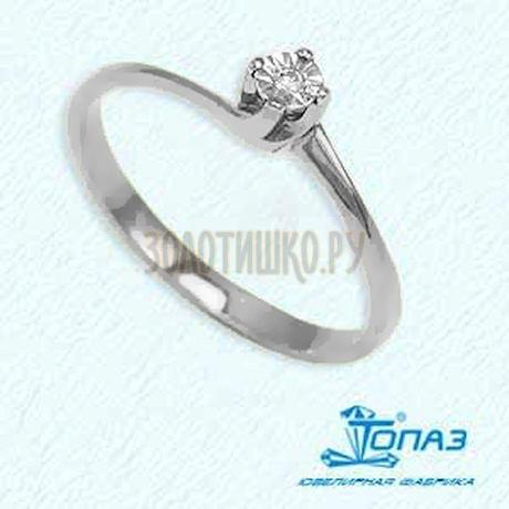 Кольцо с бриллиантом Т30561557