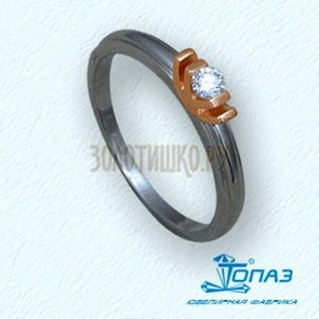 Кольцо с бриллиантом Т31101505