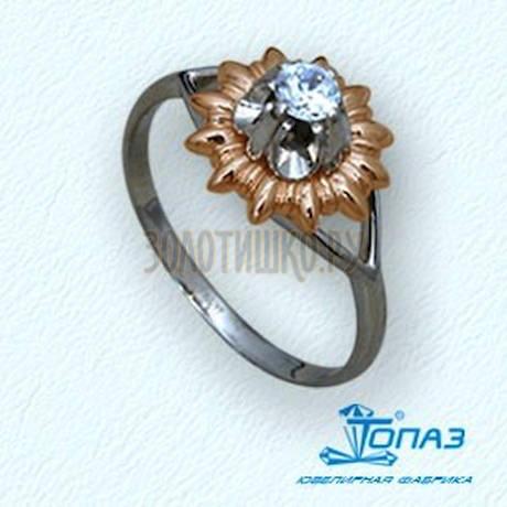 Кольцо с бриллиантом Т31101545