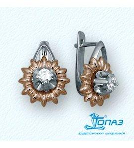 Серьги с бриллиантами Т31102496