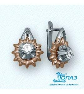Серьги с бриллиантами Т31102545
