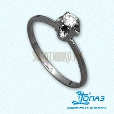 Кольцо с бриллиантом Т33101546