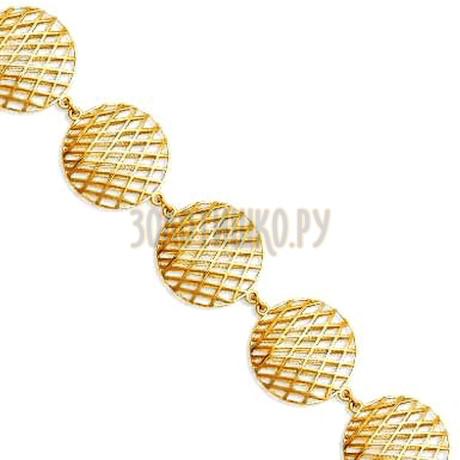 Браслет из желтого золота Т90060243