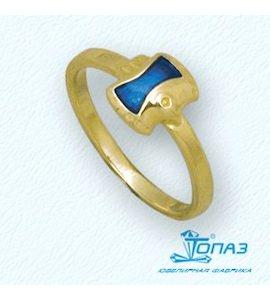 Кольцо с эмалью Т95001896
