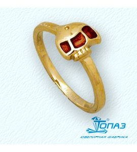 Кольцо с эмалью Т95001899