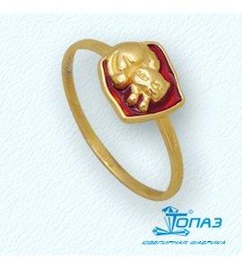 Кольцо с эмалью Т95001916
