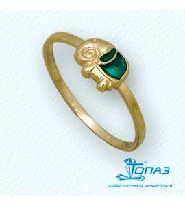 Кольцо с эмалью Т95001918