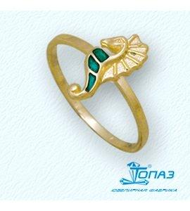 Кольцо с эмалью Т95001936