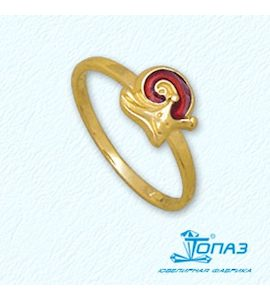 Кольцо с эмалью Т95001947