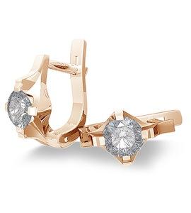 Серьги с бриллиантами Т101022653