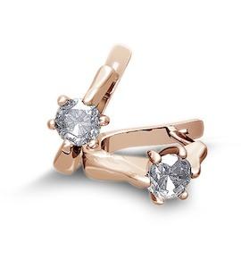Серьги с бриллиантами Т101022764