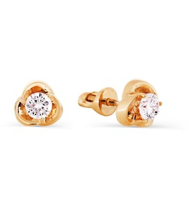 Серьги с бриллиантами Т101026639