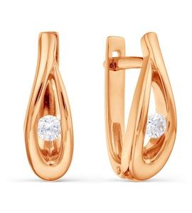 Серьги с бриллиантами Т101028643