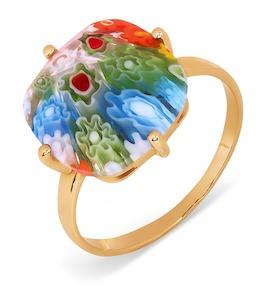 Кольцо с ювелирным стеклом Т102017361