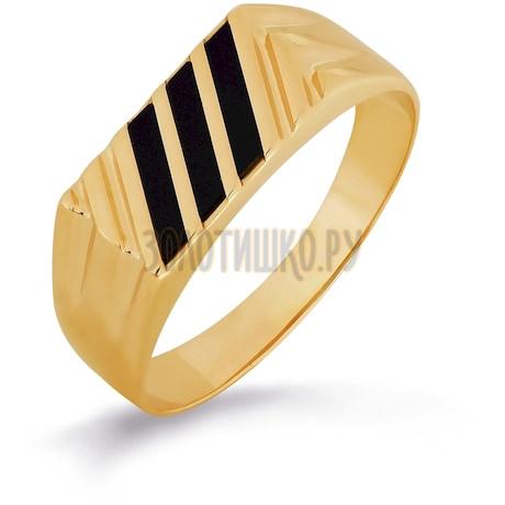 Кольцо с ониксами Т102046013