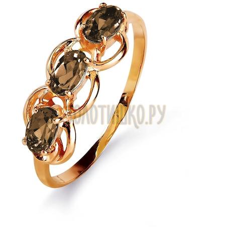 Кольцо с раухтопазами Т103015821_5