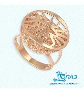 Кольцо из красного золота Т110612269
