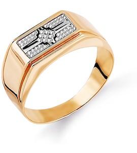 Кольцо из красного золота Т130044461