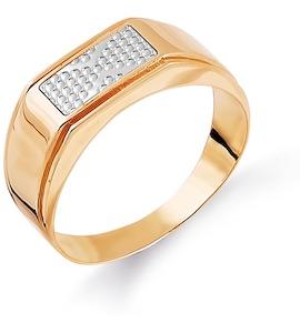 Кольцо из красного золота Т130044462