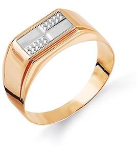 Кольцо из красного золота Т130044463