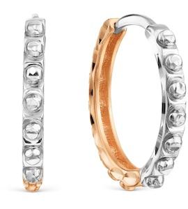 Серьги конго из разных цветов золота Т130629453