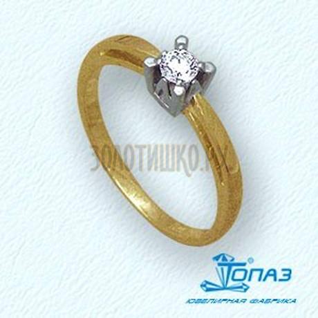 Кольцо с бриллиантом Т131011062