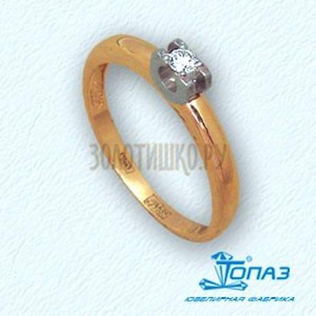 Кольцо с бриллиантом Т131011079