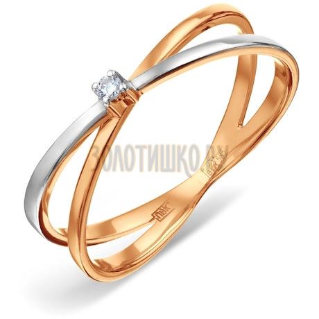 Кольцо с бриллиантом Т131011209