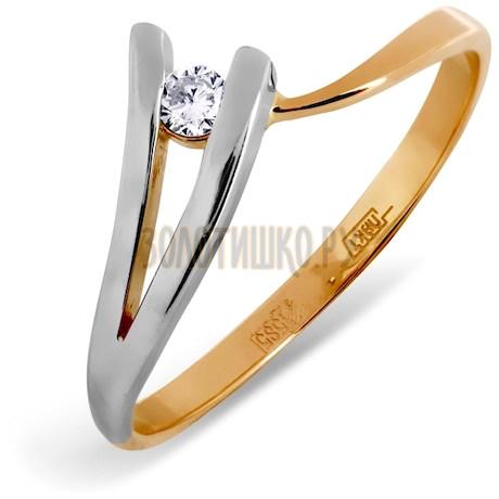 Кольцо с бриллиантом Т131011748