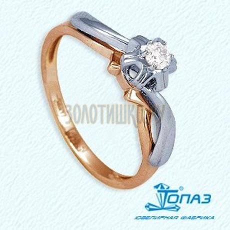 Кольцо с бриллиантом Т131011899