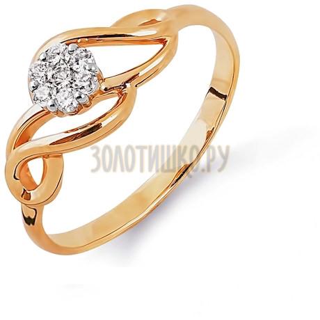 Кольцо с бриллиантами Т131013623