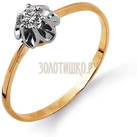 Кольцо с бриллиантом Т131014362