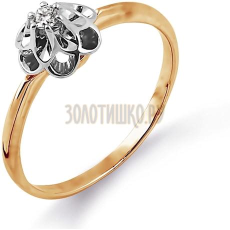 Кольцо с бриллиантом Т131014364