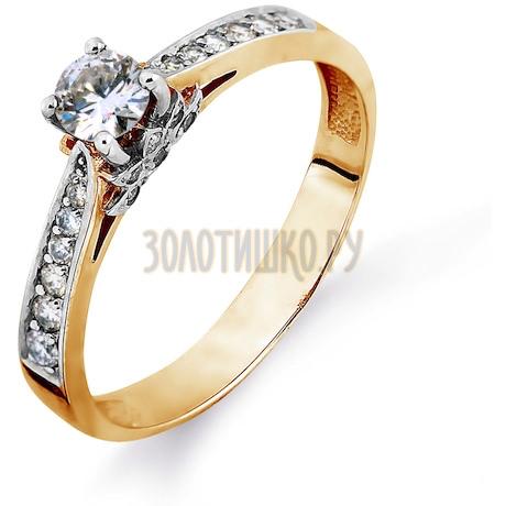 Кольцо с бриллиантами Т131014684