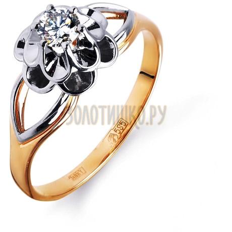 Кольцо с бриллиантом Т131014698