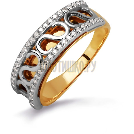 Кольцо с бриллиантами Т131014788-1