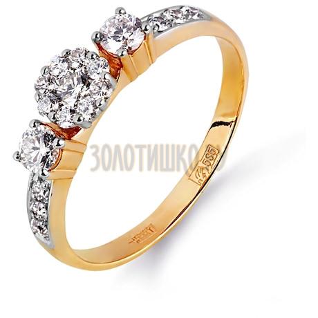 Кольцо с бриллиантами Т131014899