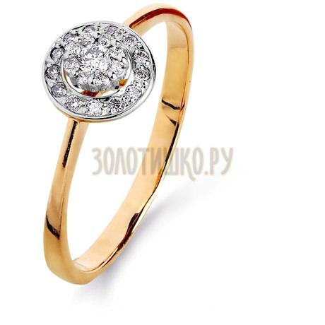 Кольцо с бриллиантами Т131015305
