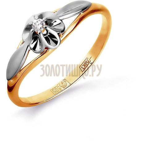Кольцо с бриллиантом Т131016190