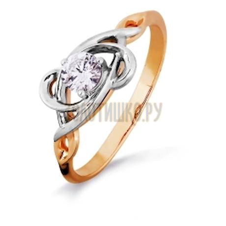Кольцо с бриллиантом Т131016415-1