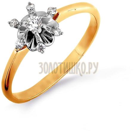 Кольцо с бриллиантами Т131016449
