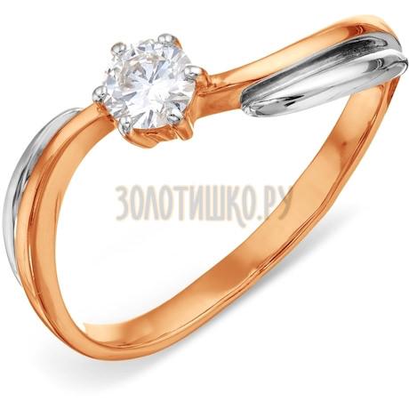 Кольцо с бриллиантом Т131016669-1