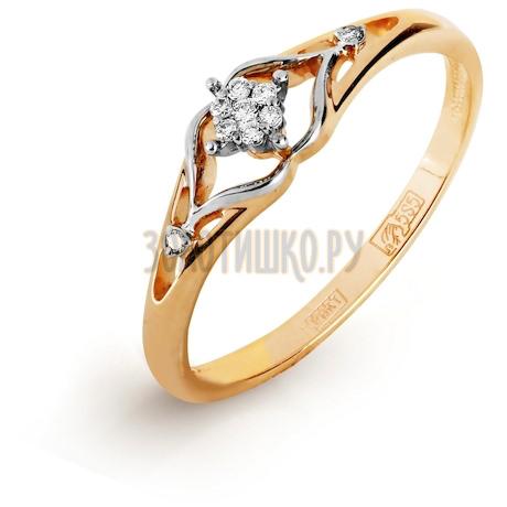Кольцо с бриллиантами Т131017002